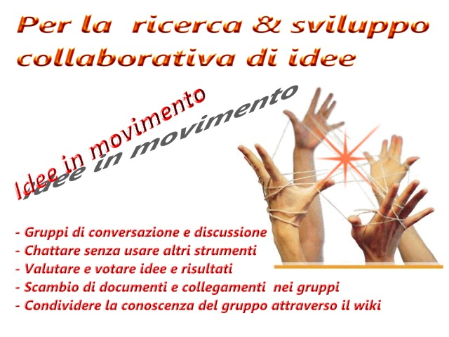 Co-working e discussione